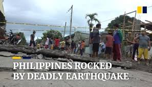 The philippines are within the pacific ring of fire. Southern Philippines Mindanao Island Hit By Deadly Earthquake South China Morning Post