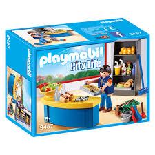 Playmobil City Life Hausmeister Mit Kiosk 9457 Babyjoech