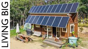 Off Grid Solar System Design Philippines 10 000 Off The Grid Tiny House With Huge Solar System