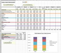 Budget Planning Template Excel How To Manage Your Entire Marketing Budget Free Budget