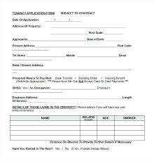 Apartment Application Form New Beautiful Rental Lease Agreement Free ...
