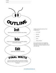 essay on writing process printable writing process and essay set up and outline also