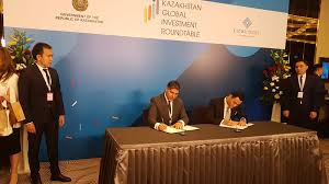 image title dal holding investment co signed several memorandums of understanding during kazakhstan global investment roundtable 2018
