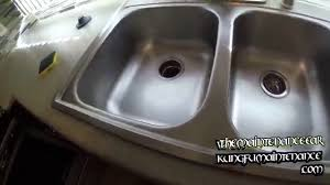 stainless steel sink stain removal how to get rid of burns marks discolorations fast