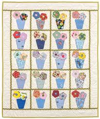 87 best The Big Book of Baby Quilts images on Pinterest | Big ... & Perfect Posies baby quilt by Retta Warehime Adamdwight.com