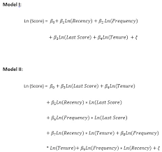 Logit Model Using Logistic Regression For A Continuous Dependent