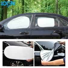 Windshield Sun Shades With Designs Us 13 99 30 Off 6pcs Lot Car Window Sun Shade Car Windshield Visor Cover Block Front Window Sunshade Uv Protect Car Window Film Car Accessories In