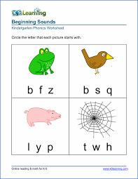 Phonetic Chart Sound For Kindergarten Free Preschool Kindergarten Phonics Worksheets Printable