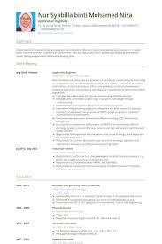 51 Elegant Application Support Engineer Resume Sample Template Free