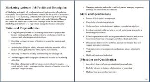 Sales Administrative Assistant Job Description Examples
