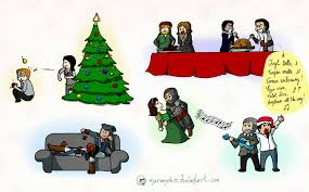 Merry Christmas, Assassins ! by Dulcamarra on DeviantArt