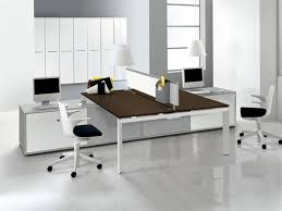 clear office. Interior-decoration : Office Minimalist Interior Design On Clear White Wall And ~ Glubdubs