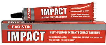 evo stick impact instant contact adesive