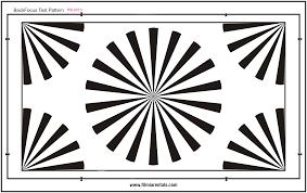 Back Focus Test Chart Backfocus Chart Filmia Rentals Equipamiento