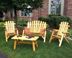wood lawn chairs outdoor wooden patio furniture set seating 8 chair patterns