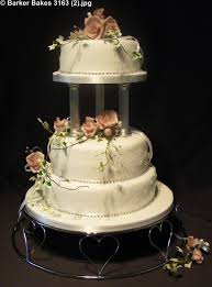 Elegant Wedding Cakes Barker Bakes Ltd
