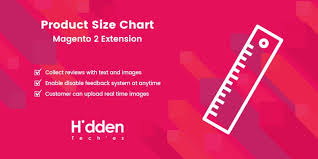 Magento 2 Size Chart Extension Product Size Chart