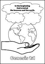Free Printable Bible Colouring Pages For Kids Genesis 11 Creation
