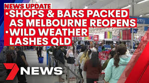 All business and religious premises to close. 7news Update October 28 Melbourne Reopens After Covid Lockdown Wild Weather Lashes Qld 7news Youtube
