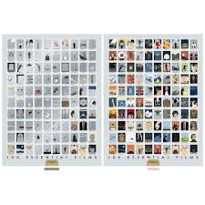 Pop Chart 100 Essential Movies Pin On Products
