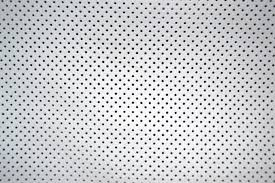 golf perforated leather hide 1 2 1 4mm running white