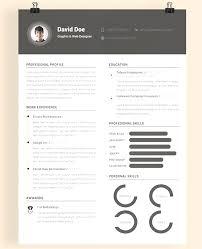 Resume Template Ai Professional Creative Resume Templates Ai 100 Best Free Resume 51
