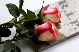 Image result for rip flowers images