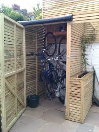 33 crafty inspiration ideas outdoor bike storage designs awesome 6 x 3 waltons tongue and groove