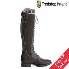 Tredstep Legacy Fitted Winter Fur Front Lace Boots