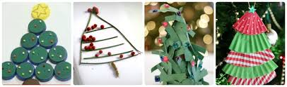 Christmas tree crafts to make with the kids