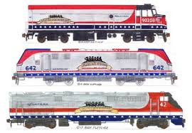 amtrak train drawing. Beautiful Amtrak Amtrak NPCU ACS64 P42DC Veterans Units By Andy Fletcher Intended Train Drawing