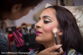 getting ready in sacramento ca indian wedding by desi intervention photography indian bridal makeup artist