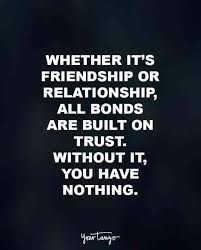 Trust In Relationships