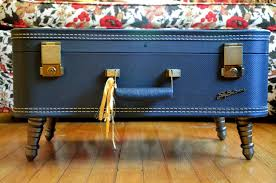 Instructables Coffee Table Make Your Own Vintage Suitcase Coffee Table 3 Steps With Pictures