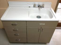 vintage metal kitchen sink cabinet on from and for