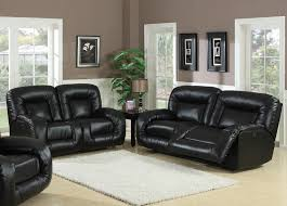 Leather Couch Living Room Amusing Living Room Design With Black Leather Sofa Radioritascom