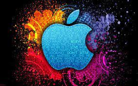 Colorful Apple Design Wallpaper