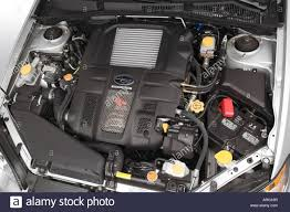 2007 Subaru Legacy 2.5 GT Limited in Silver - Engine Stock Photo ...