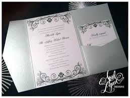 Design Your Own Wedding Invitations Template Designing Your Own Wedding Invitations Black And Silver Wedding