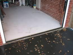 garage door floor seal gurus floor