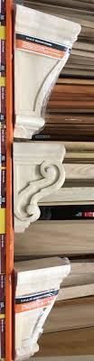 Decorating Cedar Corbels Linen Cabinet Lowes Corbels Home Depot