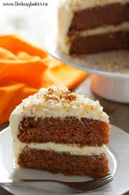 Homemade Carrot Cake With Cream Cheese Frosting The Busy Baker