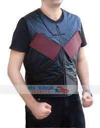 deadpool colossus leather vest