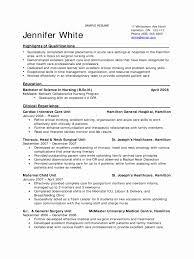 Nursing Student Resume Examples New 8 Sample Nursing Student Resumes