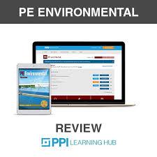 Environmental PE Exam | Environmental Study Tools | PPI