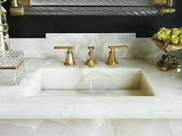 onyx bathroom countertops white onyx with brass and glass mirror onyx collection bathroom countertops