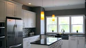 black kitchen cabinets with grey walls dark grey walls white cabinets light grey kitchen walls white