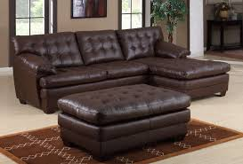 wonderful sectional sofa living room ideas brown leather lounge sectional sofa square brown ottoman coffee table