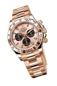 do rolex watches hold their value the jewellery editor rolex cosmograph daytona everose watch a rose gold dial and bracelet and black chronograph counters