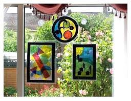 stained glass suncatchers free stained glass suncatcher patterns for beginners